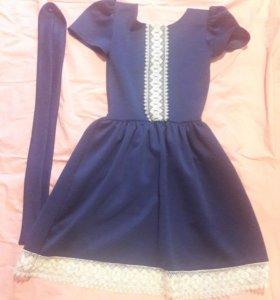 Платье кардиган