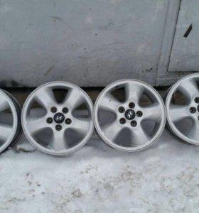 Литые диски 5*114,3 d16
