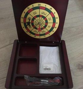 Настольный дартс ( подарочный набор)