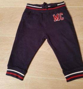 Спортивные штаны (новые)mothercare 9-12 мес.