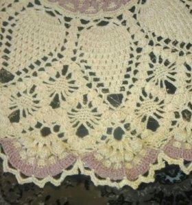 Скатерть ручной вязки