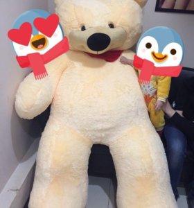 Огромный медведь 200 см