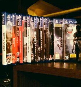 Продажа дисков PS4, обмен