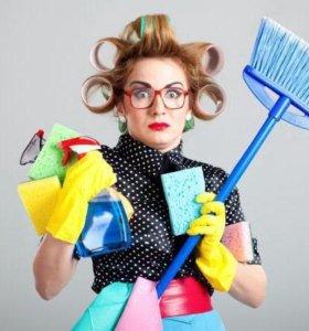 ольгино уборка квартиры домработница