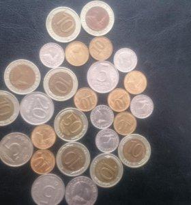 Монеты России 1990-х годов