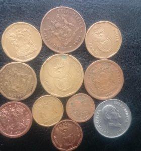 Монеты южноафриканской республики