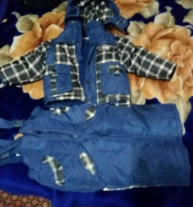 Детский зимний 80+ валенки+ шарф