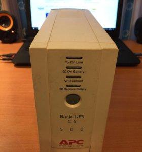 Бесперебойный блок питания APC 500
