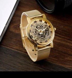 Наручные часы цвет золото красивые