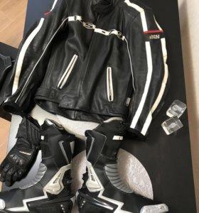 Мотокуртка IXS, Мотоботы MTECH, перчатки IXS
