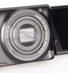 фотоаппарат поворотный Nikon Collpix S6900 с видео