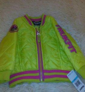Куртка новая 62-74 см