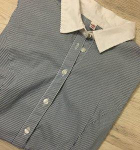 Боди рубашка