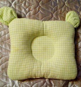 Детская анатомическая подушка для сна