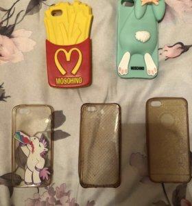 Чехлы на iPhone 5-5s-5c-SE