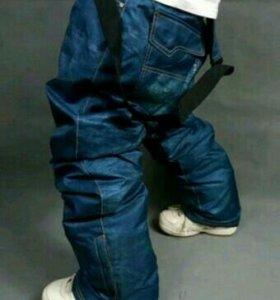 Сноубордические штаны под джинсу