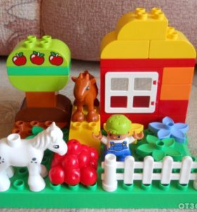 """Лего дупло """"мой первый сад"""""""