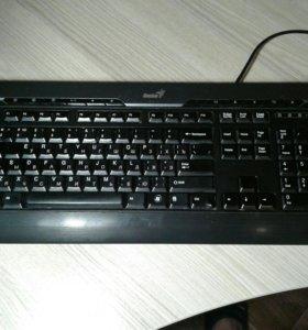 Клавиатура Genius SlimStar 220 Pro USB Вход
