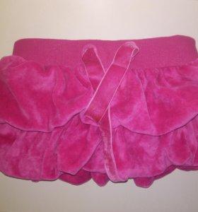 костюм юбка+кофта для девочки бу