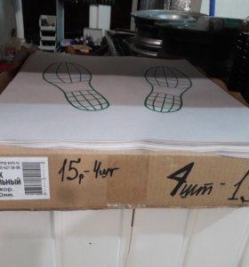 Коврики бумажные для моек 4шт-15р.
