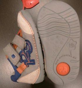 Ботинки ELEFANTEN новые, натуральная кожа