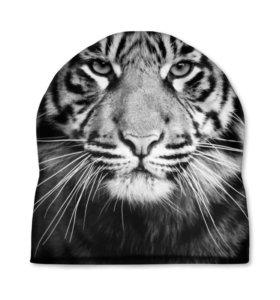 """Шапка 3D """"Красавец тигр"""" (929791) новая в наличии"""
