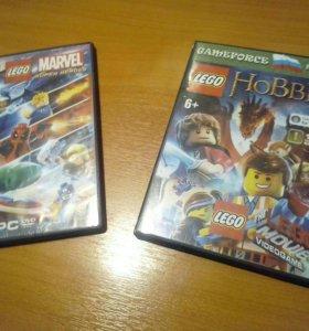 Диски с играми Lego
