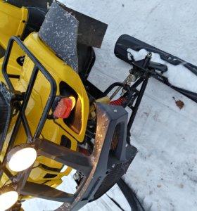 Мотовездеход апачи трек 180 зима-лето (вариатор)