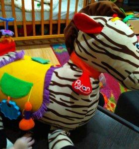 """Развивающая игрушка """"зебра"""""""