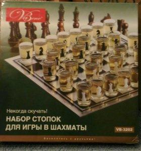 Н-р стопок для игры в шахматы.