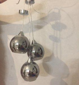 Лампы, люстра