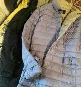 Новые куртки/пальто/стеганные куртки на 44-46-48