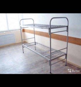БУ Армейские кровати металические