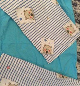 Детские простыни и комплекты постельного белья