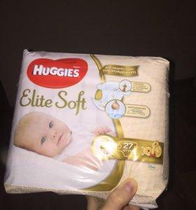 Подгузники Хагис Элит Софт 3-6 кг размер 2