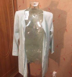 Новый пиджак лён