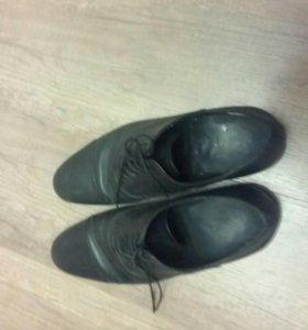 Ботинки кожанные ,размер 42