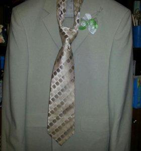 Костюм. Пиджак + брюки + галстук