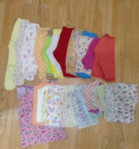 Пакет вещей для девочки от 0 до 1 года