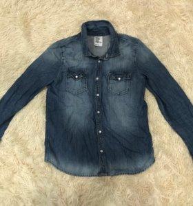 Рубашка джинсовая «H&M»