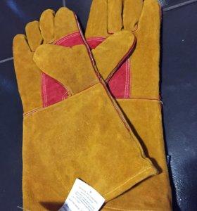 Перчатки зимние сварочные
