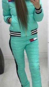 Зимний спортивный костюм 46