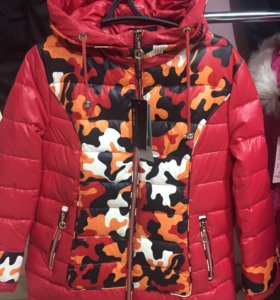 Новая короткая зимняя куртка