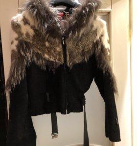 Куртка пони чернобурка