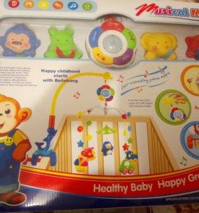 Мобиль для детской кроватки.