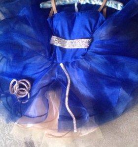 Платье для выступления в спортивных бальных танцах