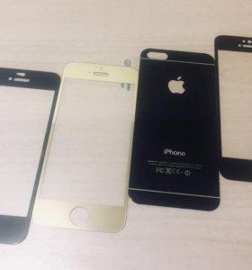 Цветные стекла , чехлы и прочее на iPhone