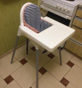 Детский стульчик Икеа