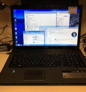 """Ноутбук acer 17,3"""" core i5"""