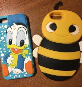 Чехлы для iPhone 5s даром
